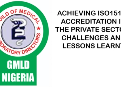 Achieving ISO15189 Accreditation In The Private Sector: Challenges And Lessons Learnt